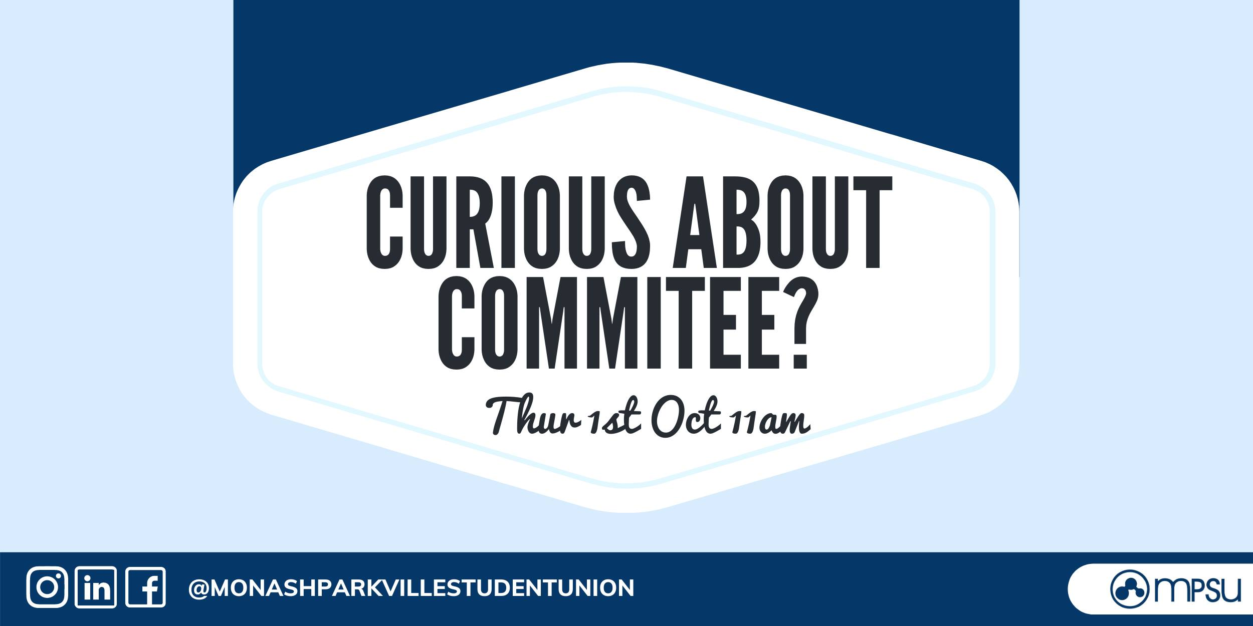 Curious About Committee